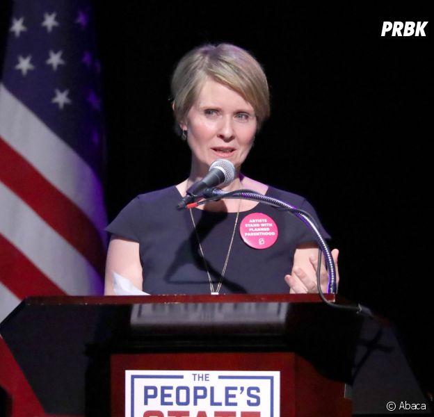 Cynthia Nixon (Sex and the City) se lance en politique pour devenir Gouverneur
