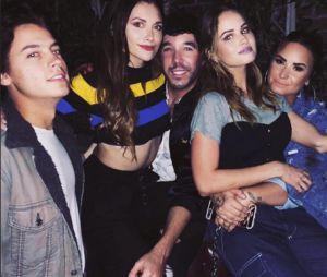 Demi Lovato, Debby Ryan, Cole Sprouse et Alyson Stoner réunis ce 4 avril 2018