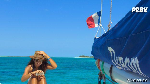 Alyzée Joy Montana a décroché un job de rêve : voyager sur les mers et les océans du monde entier !