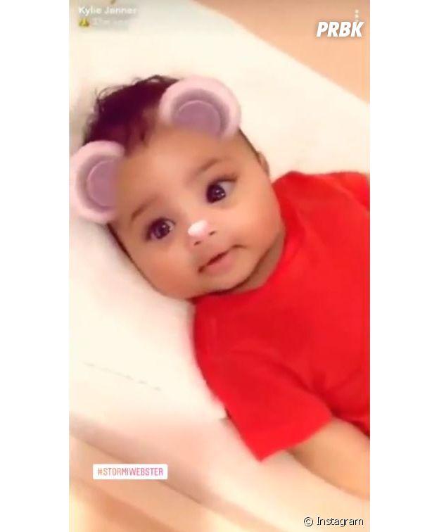 Kylie Jenner : essayez de ne pas craquer devant la vidéo so cute de Stormi !