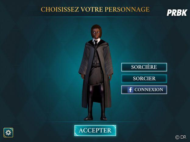 Hogwarts Mystery : le choix du personnage