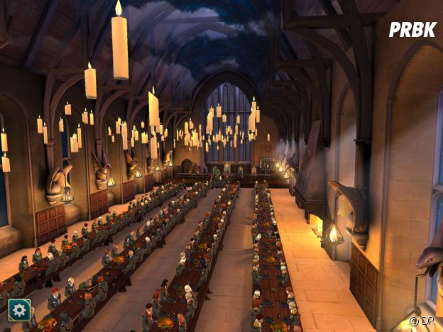 Hogwarts Mystery : la grande salle de Poudlard