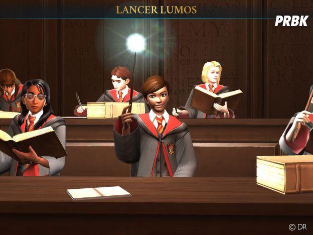 Hogwarts Mystery : notre avatar en cours de sortilèges