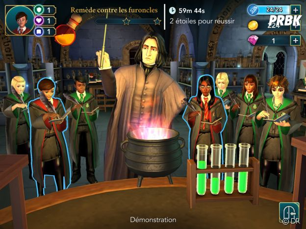 Hogwarts Mystery : le professeur Rogue