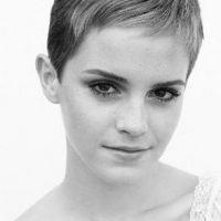 Emma Watson ... Elle a les cheveux courts