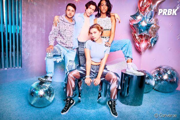 Miley Cyrus dévoile sa collab disco avec Converse !