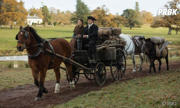 Outlander saison 4 : Claire et Jamie sur une photo