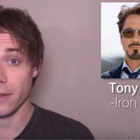 Avengers, Harry Potter... ce YouTubeur imite à la perfection vos personnages préférés