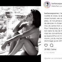 """Barbara (Les Anges 10) censurée par Instagram pour """"un bout de téton"""" : """"c'est scandaleux"""""""