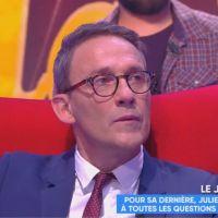 Julien Courbet très ému pour sa dernière dans TPMP 😢