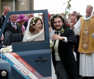 Kit Harington et Rose Leslie se sont mariés le 23 juin 2018 en Ecosse