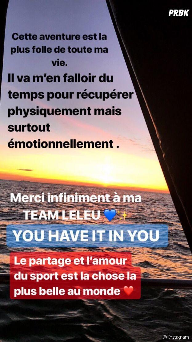 Marine Leleu est la 1ère française à réussir l'Enduroman !