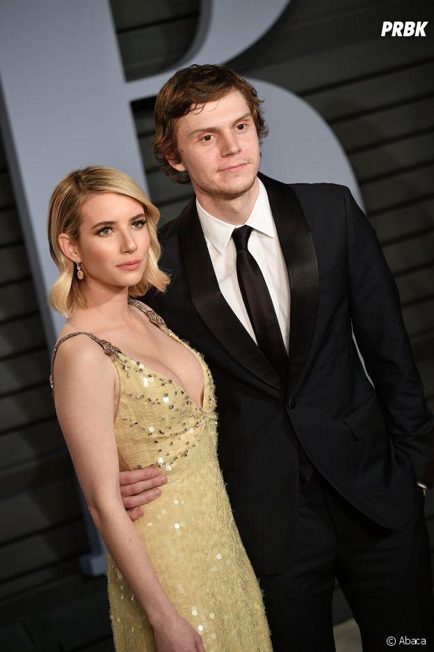 Ces couples qui se sont remis ensemble après une rupture : Emma Roberts et Evan Peters