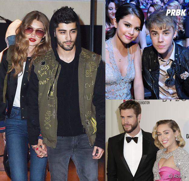 Gigi et Zayn, Selena et Justin... ces couples qui se sont remis ensemble après une rupture