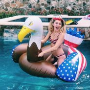 Miley Cyrus, Kim Kardashian, Selena Gomez... : les photos des stars pour le 4 juillet 🇺🇸