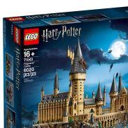 Harry Potter : le château de Poudlard version LEGO débarque avec ses... 6.000 briques !