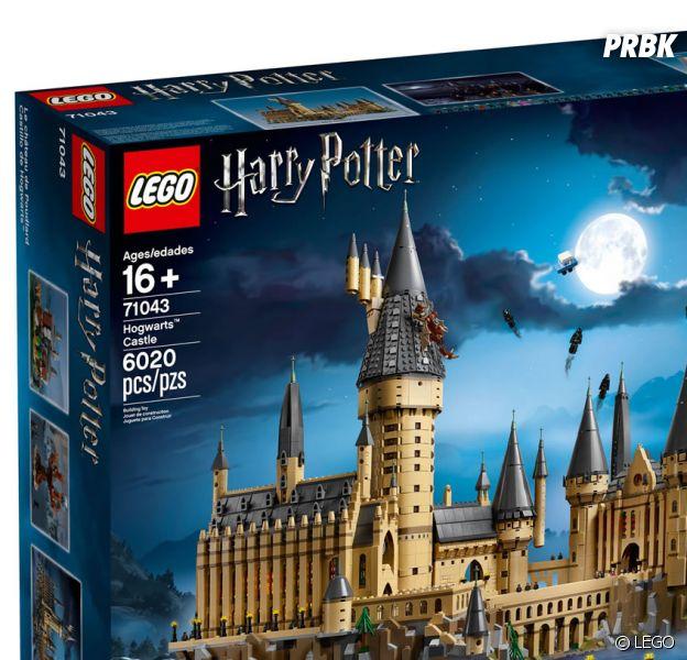 Harry Potter : le château de Poudlard version LEGO bientôt disponible !