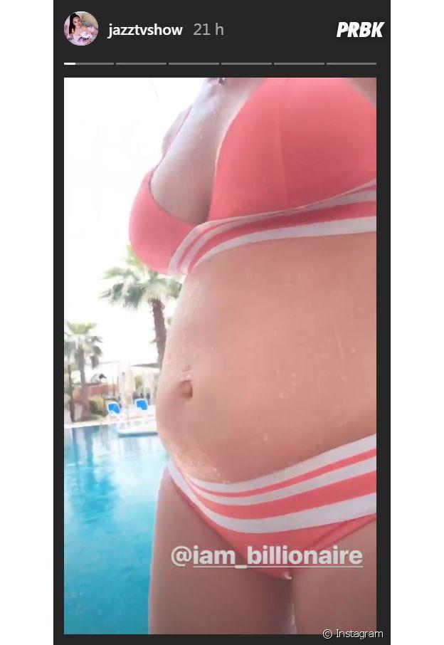 Jazz enceinte : la candidate de La Villa, la bataille des couples dévoile son baby bump !