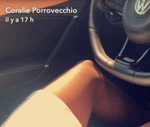 Coralie Porrovecchio confirme être en couple sur Snapchat