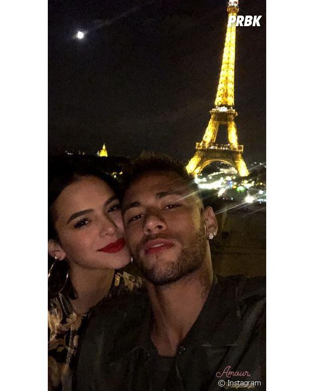 Neymar amoureux : le footballeur du PSG déclare sa flamme à sa girlfriend Bruna Marquezine !