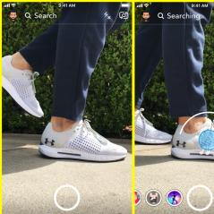 Snapchat : bientôt une fonction shopping ?