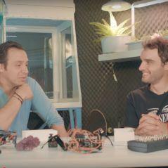 Dr Nozman réalise un rêve en réalisant deux vidéos avec Alexandre Astier