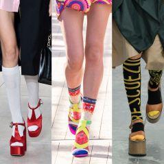 Après le combo claquettes-chaussettes, la tendance est aux sandales-chaussettes