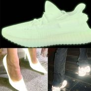 Sneakers, talons... le fluorescent qui brille dans le noir, tendance de cet automne