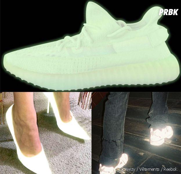 Les chaussures fluorescentes qui brillent dans le noir, la nouvelle tendance 2018.