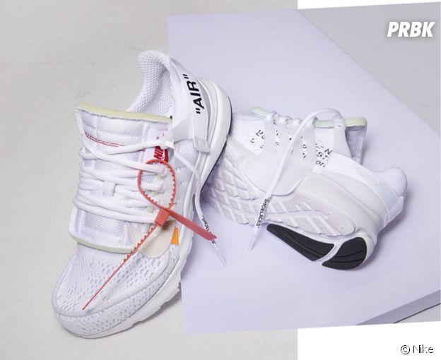Virgil Abloh a fait une collaboration avec Nike.