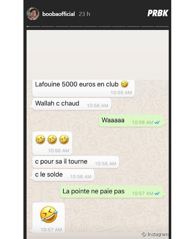 """Booba : """"Sale pointeur"""", le rappeur insulte (encore) La Fouine"""