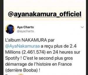 Booba inquiet du succès d'Aya Nakamura ?