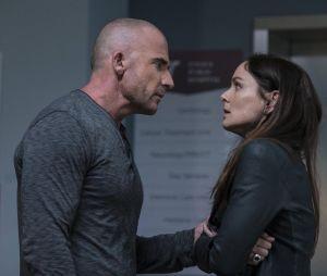 Sarah Wayne Callies face à Dominic Purcell dans Prison Break