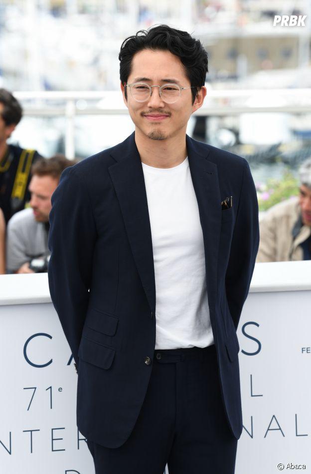 Steven Yeun au Festival de Cannes 2018