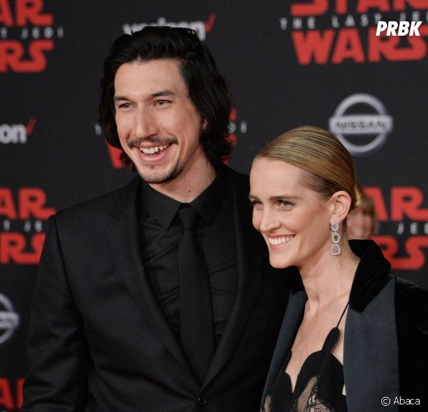 Adam Driver (Star Wars) papa dans le plus grand secret... depuis 2 ans ?