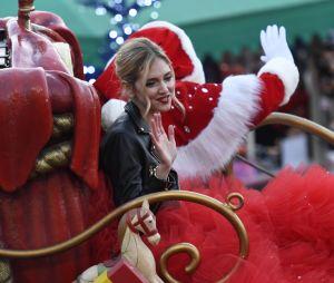 Disneyland Paris : Chiara Ferragni à la parade de Noël