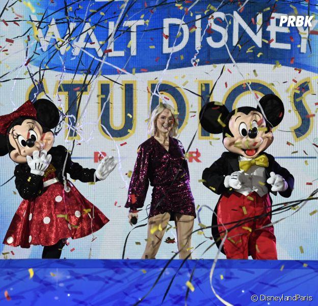 Zara Larsson sur scène à Disneyland Paris pour les 90 ans de Mickey