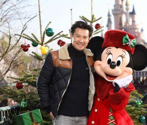 Frédéric Chau à Disneyland Paris pour la saison de Noël