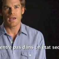 Dexter saison 2 en DVD ... interview de Michael C.Hall