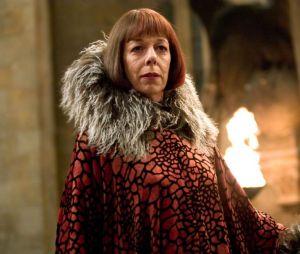 Frances de la Tour a joué Olympe Maxime dans le film