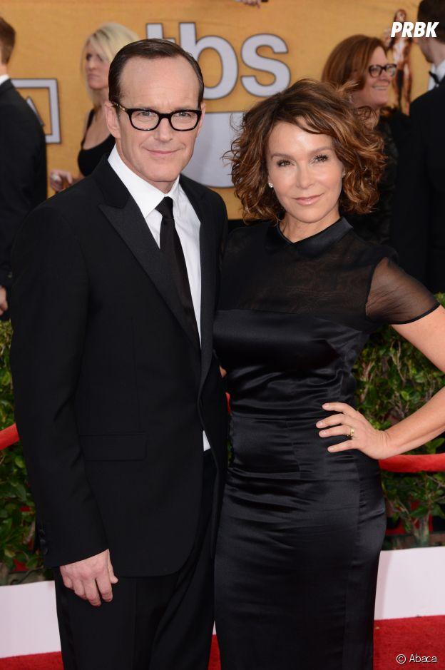 Jennifer Grey et son mari Clark Gregg