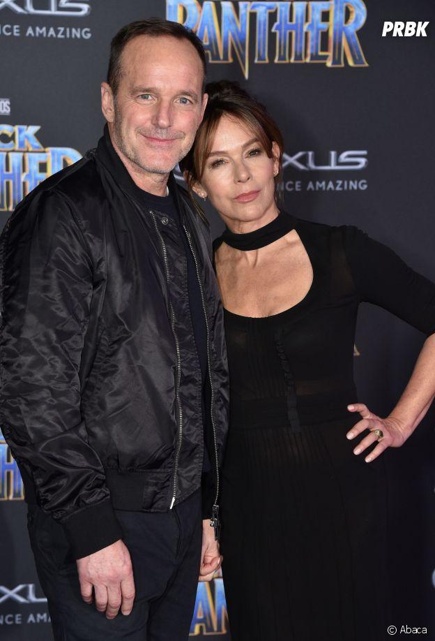 Jennifer Grey et son mari Clark Gregg en 2018