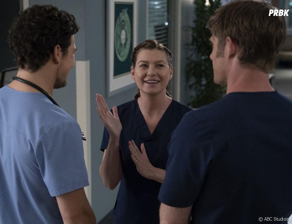 Grey's Anatomy saison 15, épisode 9 : Meredith (Ellen Pompeo) sur une photo