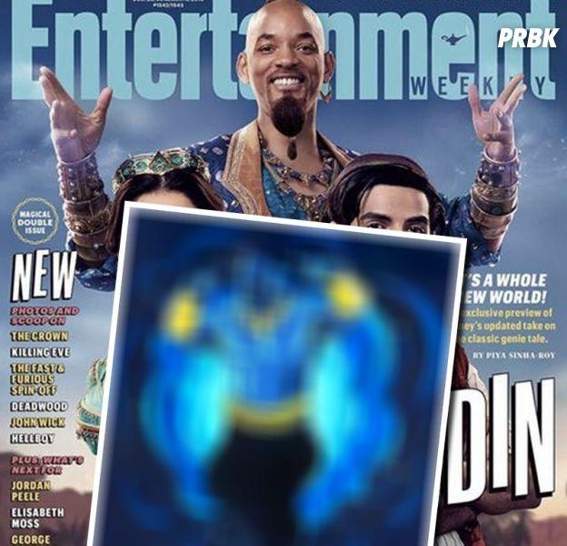 Aladdin : première image du Génie de Will Smith en bleu ?