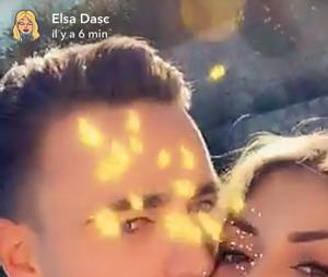 Elsa Dasc (Les Princes) avec son nouveau petit ami sur Snapchat