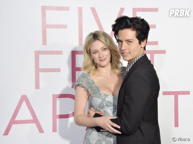Cole Sprouse et Lili Reinhart à l'avant-première du film Five Feet Apart le 7 mars 2019