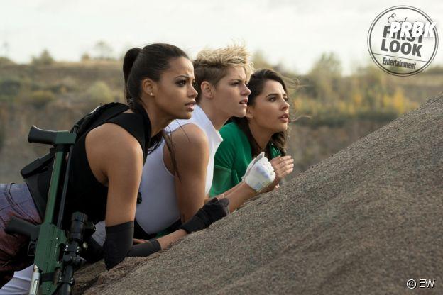 Drôles de Dames avec Kristen Stewart, Noah Centineo, Naomi Scott et Ella Balinska : les premières photos