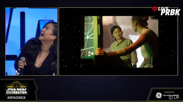 Star Wars 9 : un premier aperçu de Rose (Kelly Marie Tran) dévoilé lors du panel du film à la Star Wars Celebration