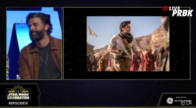Star Wars 9 : un premier aperçu de Poe (Oscar Isaac) dévoilé lors du panel du film à la Star Wars Celebration