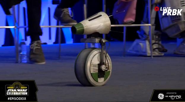 Star Wars 9 : Dio, le nouveau compagnon de BB8 dévoilé lors de la Star Wars Celebration